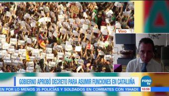 Gobierno de Rajoy aprueba decreto para asumir funciones en Cataluña