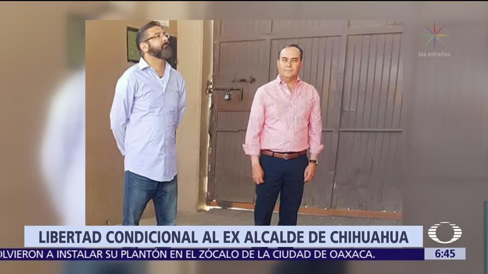 Otorgan libertad condicional al exalcalde de Chihuahua Javier Garfio Pacheco