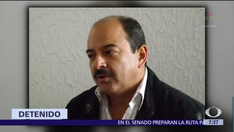Detienen al líder del PT en Aguascalientes, Héctor Quiroz García