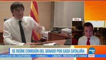 Se reúne comisión del Senado por caso Cataluña
