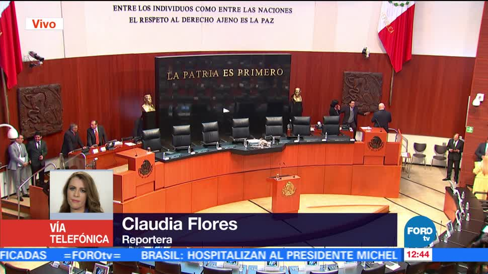 Grupos parlamentarios del Senado están reunidos en privado para analizar caso Fepade