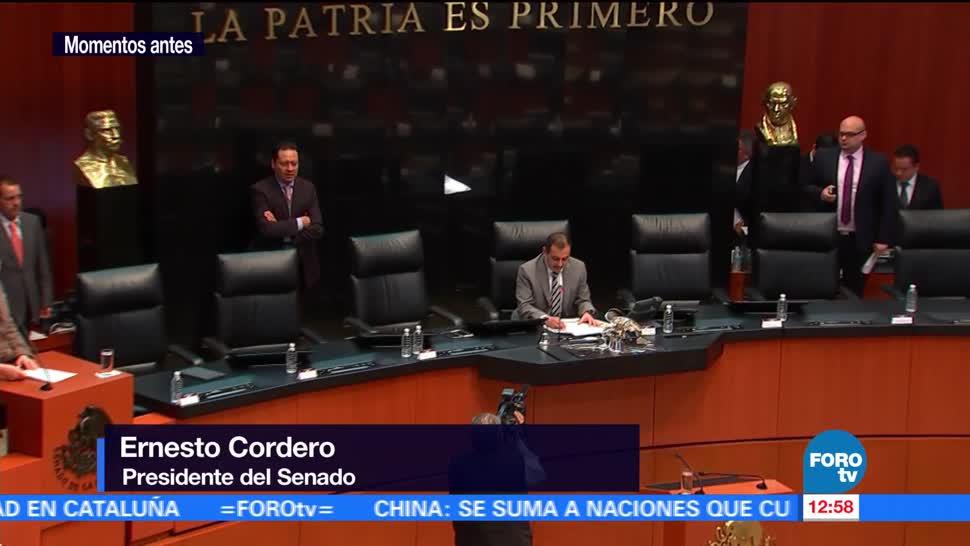 Suspenden sesión en el Senado sobre caso Fepade por falta de quórum