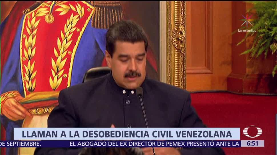 Tribunal Superior de Venezuela llama a la ciudadanía a la desobediencia civil