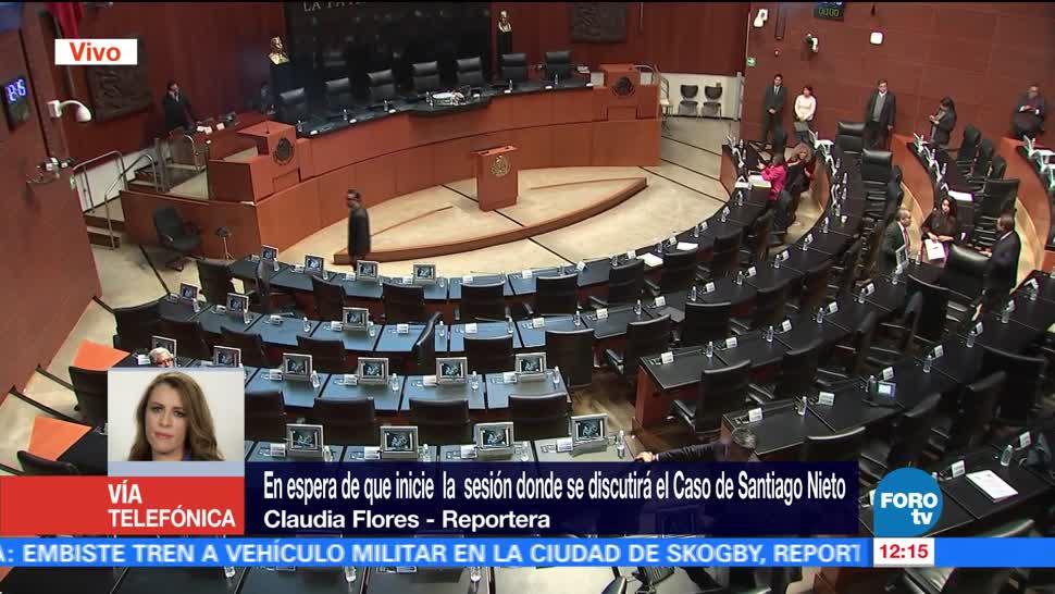 Senado, en espera del análisis sobre caso Santiago Nieto