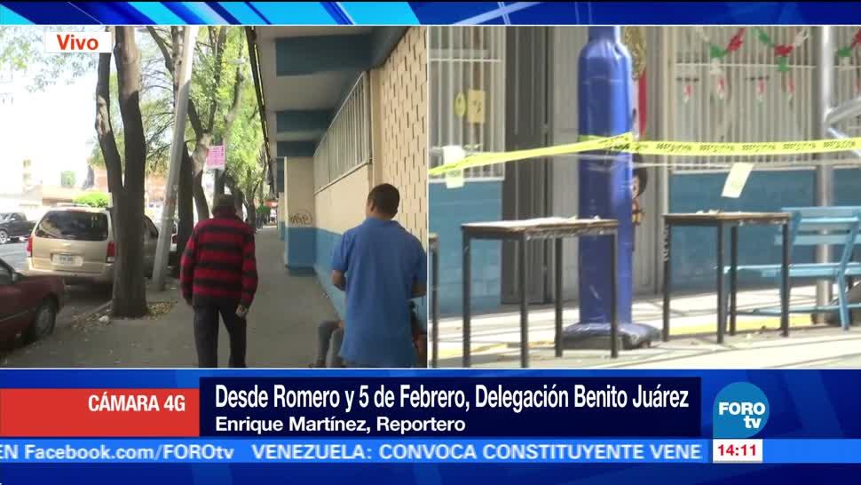 Reinician clases en escuela con daños estructurales en la delegación Benito Juárez