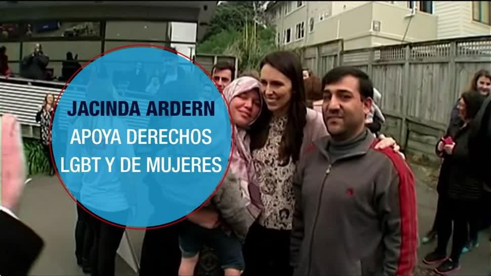 Jacinda Ardern será la tercera mujer en gobernar Nueva Zelanda