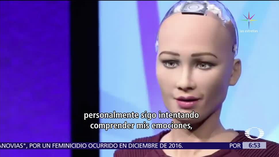 Arabia Saudita concede ciudadanía a un robot