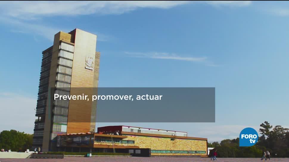 Sistema de prevención de riesgos en la UNAM