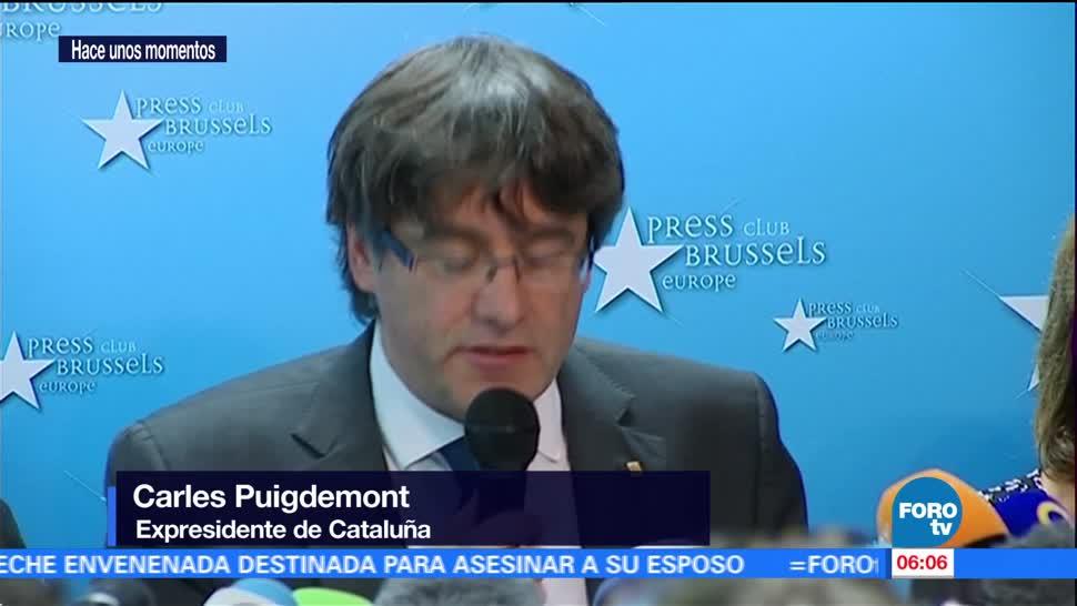 Reitera Carles Puigdemont que dialogarán con gobierno de España
