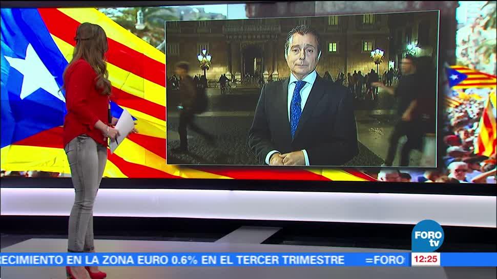 Exmiembros del Parlamento de Cataluña podrían pasar 50 años en la cárcel