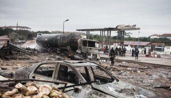 Explosión en una gasolinera en Ghana deja 6 muertos y 130 heridos