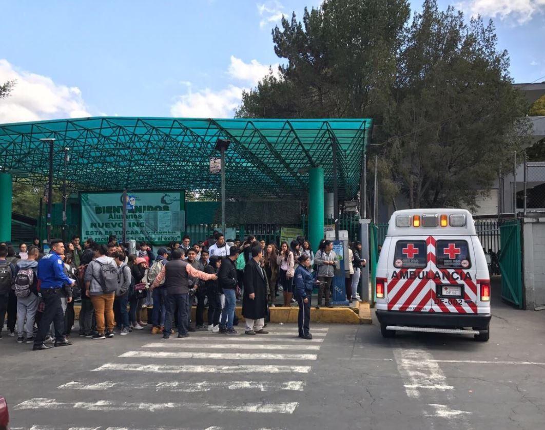 estudiante recibe balazo en la pierna dentro del colegio