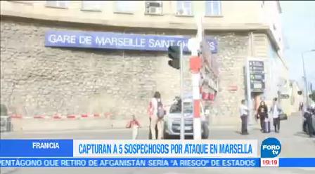 Detienen Relacionados Ataque Marsella Autoridades Francesas