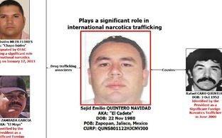 Detienen Estados Unidos primo capo mexicano Rafael Caro Quintero