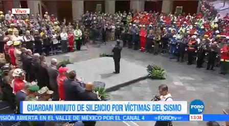 Epn Encabeza Reconocimientos Equipos Rescate Búsqueda Presidente Enrique Peña Nieto