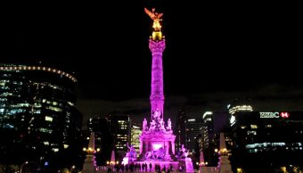 monumentos capitalinos se iluminan rosa cancer mama