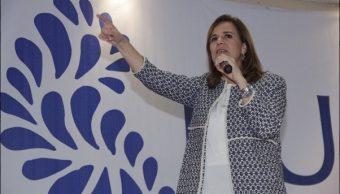 Responde Margarita Zavala a Anaya La división del PAN es tu responsabilidad