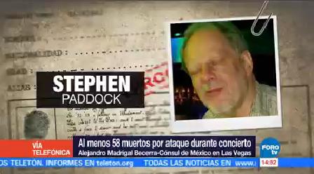 No Hay Mexicanos Lesionados Ataque Las Vegas Cónsul Madrigal Becerra