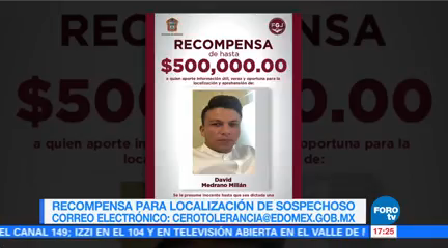 Ofrecen Recompensa Implicado Multihomicidio Tultepec Fiscalía Del Edomex