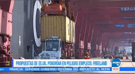Quinta Ronda Renegociación Tlcan México Robert Lighthizer Representante Comercial