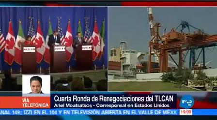 Espera Complicada Renegociación Tlcan Autoridades México, Canadá Estados Unidos