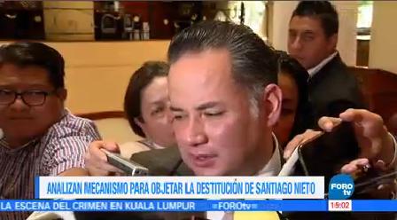 Senado Decide Procedimiento Remoción Restitución Santiago Nieto