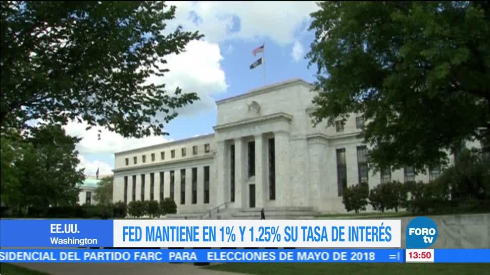 La Reserva Federal mantiene sin cambio sus tasas de interés