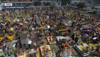 Mixquic conmemora el Día de Muertos