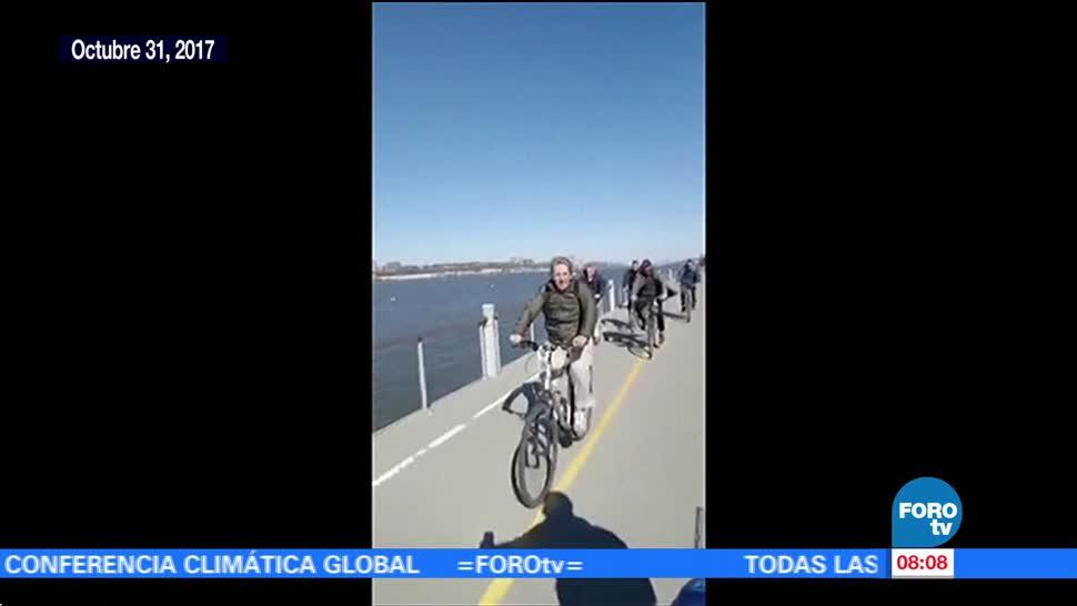 Video de argentinos antes del atentado de Nueva York