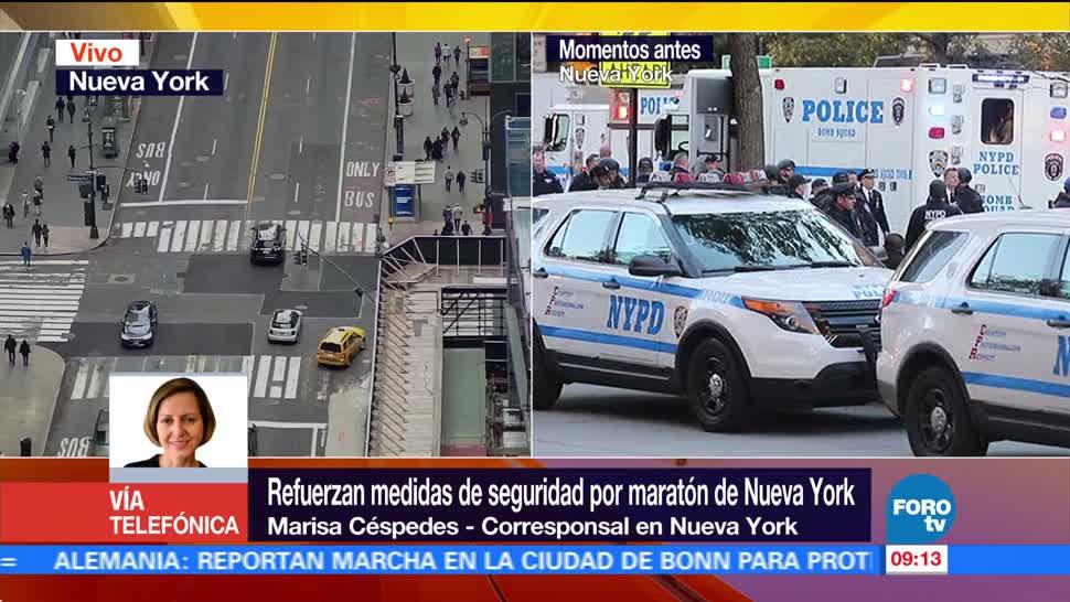 Participantes de 125 países acuden al maratón de Nueva York