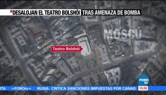 Falsa alarma de bomba en Rusia