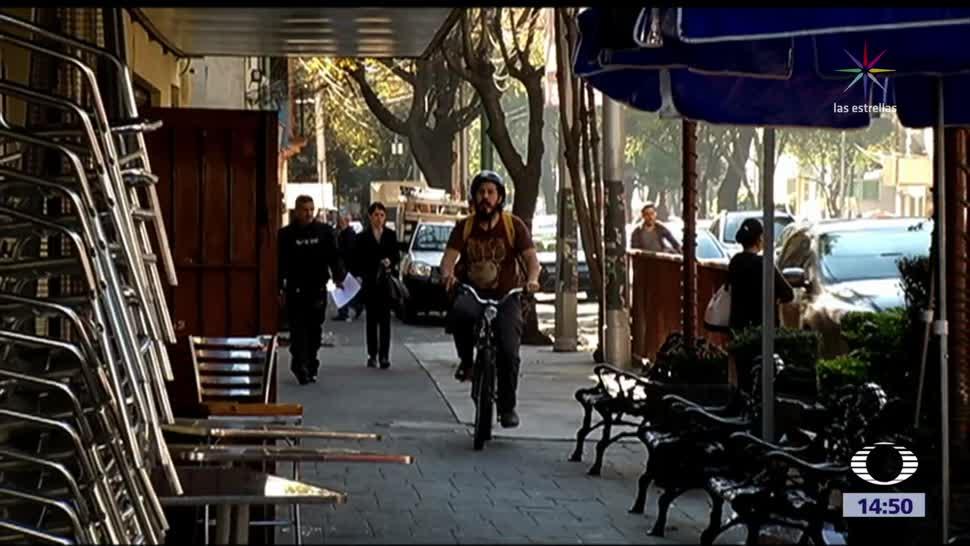 Movilidad de ciclistas afectada por los sismos