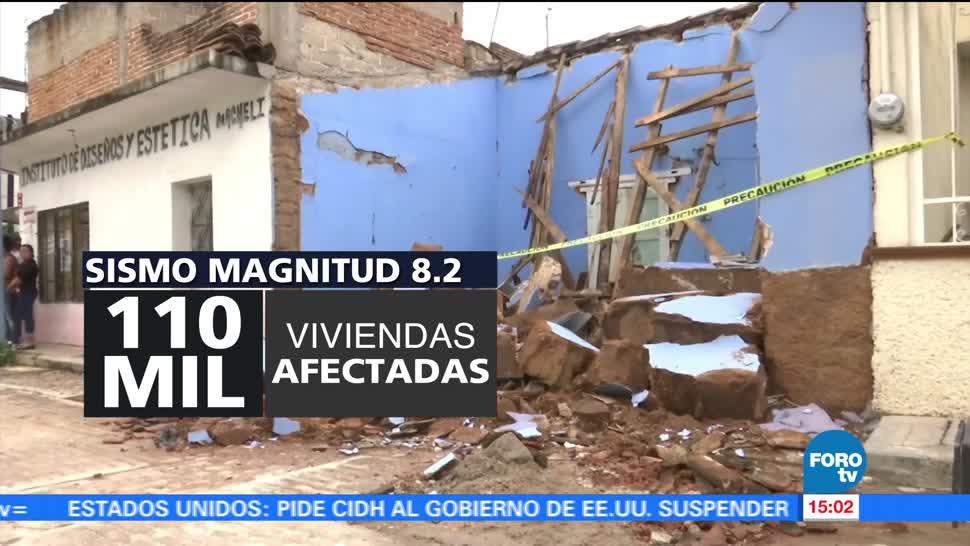 Se cumplen dos meses del sismo del 7 de septiembre