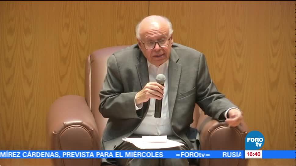 José Narro participa en panel sobre la salud en México