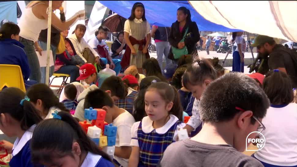 Casi mes y medio sin clases en Iztapalapa