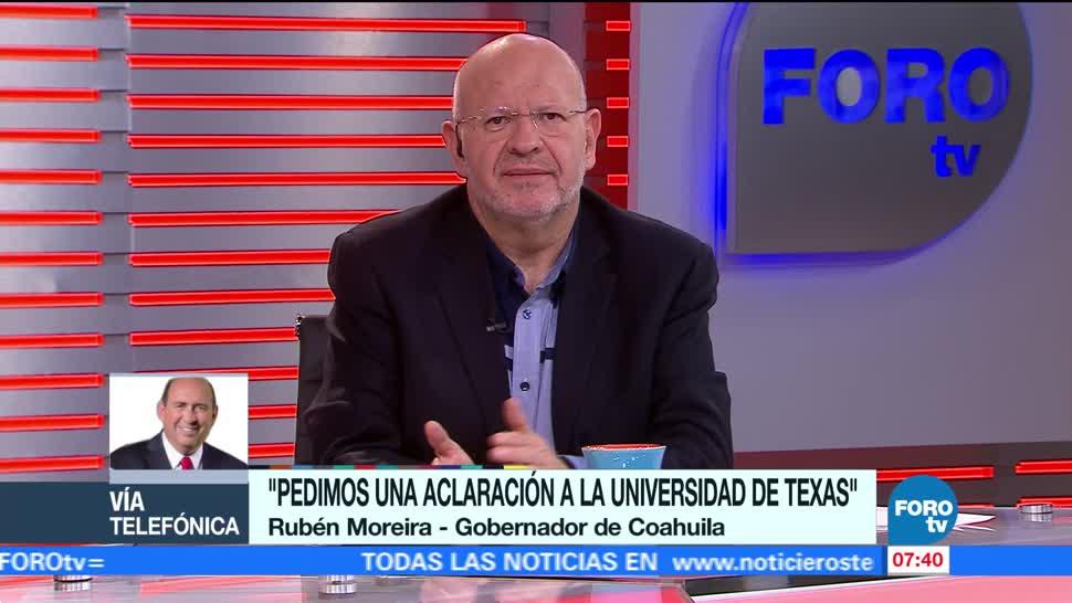 Rubén Moreira rechaza estudio que lo vincula con 'Los Zetas'