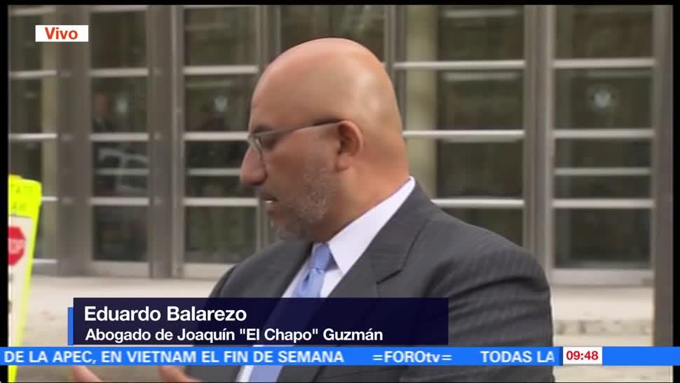 Piden evaluación psicológica para Joaquín 'El Chapo' Guzmán