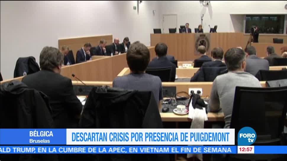 Bélgica descarta una crisis política por la presencia de Puigdemont