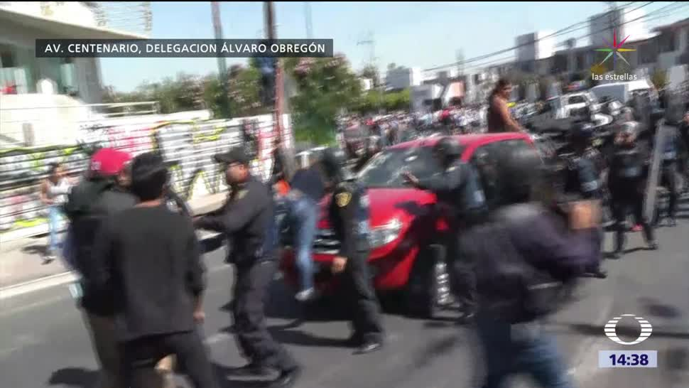 Intento de linchamiento en Álvaro Obregón