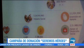 Campaña de donación de órganos 'Seremos héroes'