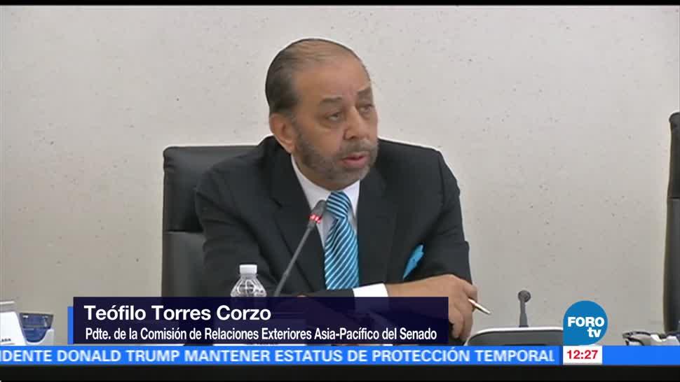 Comisiones del Senado aprueban acuerdo aduanero entre México y Japón