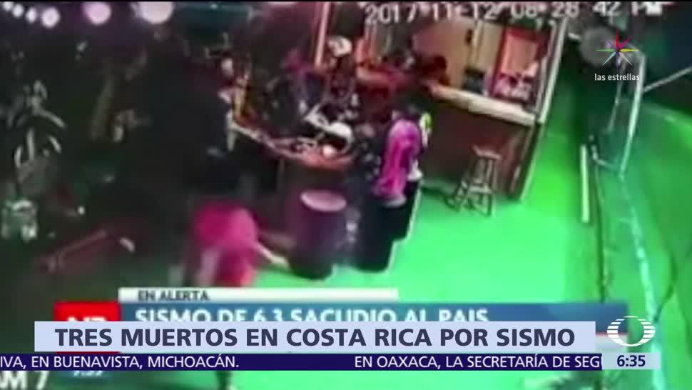 Sismo de 6.3 sacude Costa Rica