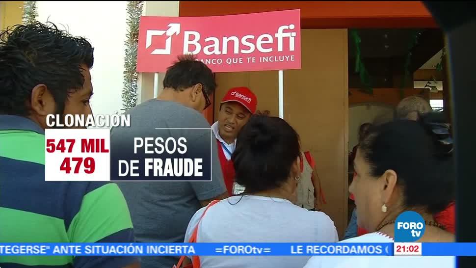 BANSEFI denuncia ante la PGR clonación de tarjetas para damnificados