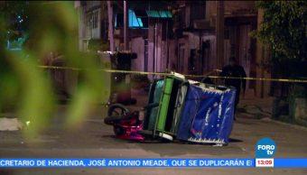 Mototaxista es arrollado por combi con reporte de robo