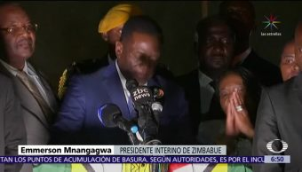 Mnangagwa anuncia nueva era para Zimbabue tras renuncia de Mugabe