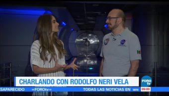 Charlando con Rodolfo Neri Vela, primer astronauta mexicano en ir al espacio (Parte 1)