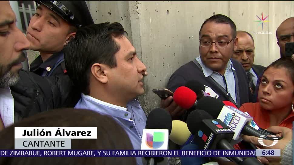 Julión Álvarez acude voluntariamente instalaciones de la Seido