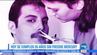 Efeméride de En Una Hora: La muerte de Freddie Mercury