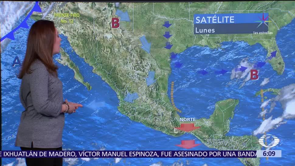 Ambiente seco y frío prevalecerá en el norte, centro y oriente del país
