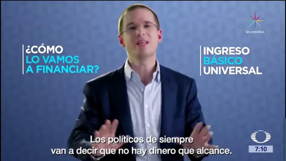 Ricardo Anaya explica la propuesta de renta universal del Frente Ciudadano